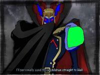 Myotismon cool cape super