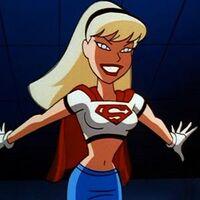 Supergirl smile