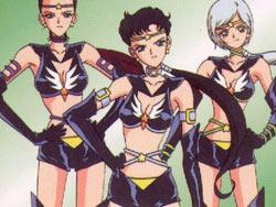 Sailor starlights group pose