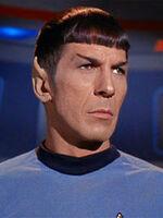 Spock attentive