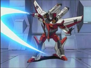 Starscream slash sword