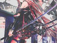 Anime-anime-girl-badass-blades-Favim.com-3641074
