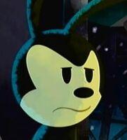 Oswald annoyed