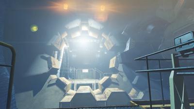 Vault 111 door opened