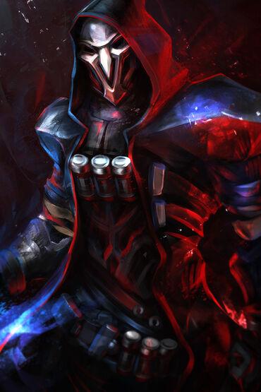 Reaper overwatch drawn by fey wojtek 8f33c6247ca737ff85bd44641a2e2faa