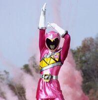 Pink Dino Charge Ranger