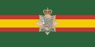 I Regt C Camp Flag