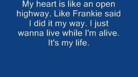 Bon Jovi - It's my life w lyrics