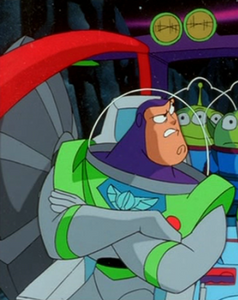 Buzz angry