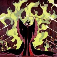 Maleficent fire shield