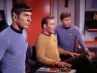 Spock kirk and mccoy