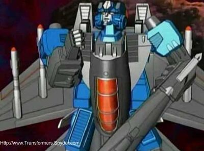 Thundercracker determined