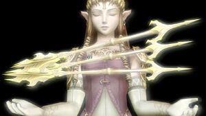 Zelda summon light arrows