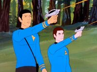 Spock and mccoy attack