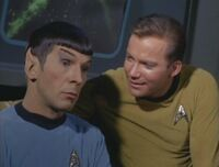 Captain kirk and spock together