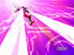 Starscream null laser cannon blast
