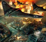 Futuristic WWII planes