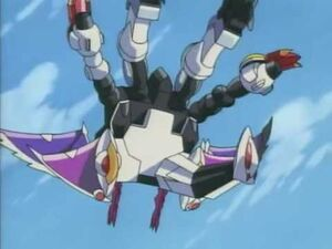 Galvatron flying claw
