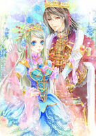 King magnus and queen celestia