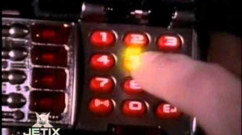 Power Rangers In Space - Red Ranger Morph