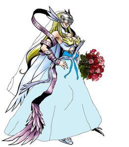 Angewomon beautiful bride