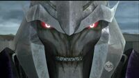 Megatron creepy close up