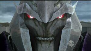 Megatron creepy close up