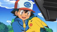 Ash you did it pikachu
