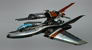 D quach 02 class1 dropship sci fi spacecraft space craft hovercraft hovercopter futuristic concept design