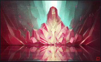 Crystal throne by gaudibuendia-d6y9unb