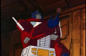 Optimus with basketball