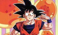 Goku muscle man