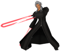 Xemnas with blades