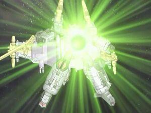 Galvatron power up