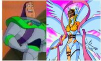 Buzz and Angewomon