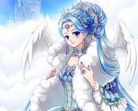 Queen celestia cloud