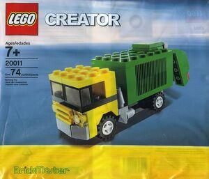 20011 Garbage Truck polybag