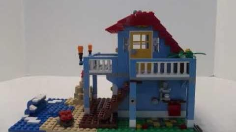 Lego Creator 7346 Seaside House - Built in Stop Motion