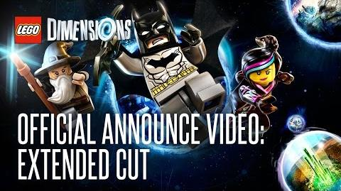 LEGO Dimensions Official Announce Video - Extended Cut