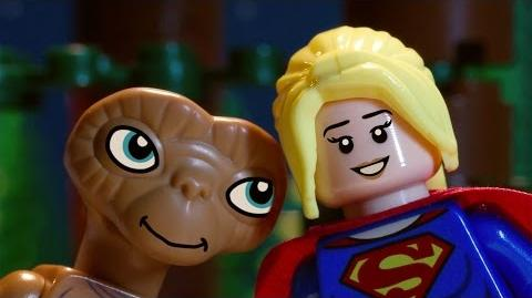 LEGO Dimensions Supergirl Meets E.T.