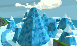 LEGO Dimensions Adventure Time Location Ice Kingdom
