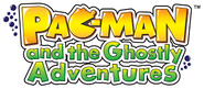 PacMan Ghostly Adventures logo