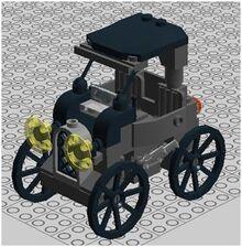 221b Baker Street Motorcar 1