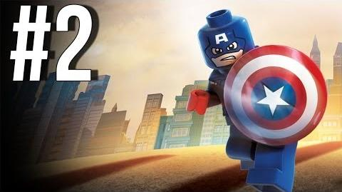 Lego Marvel Superheroes Walkthrough Part 2 Let's Play Gameplay Playthrough XBOX360 PS3 PC
