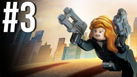 Lego Marvel Superheroes Walkthrough Part 3 Let's Play Gameplay Playthrough XBOX360 PS3 PC