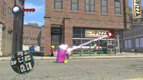 LEGO Marvel Super Heroes The Video Game - Mysterio free roam