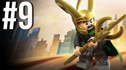 Lego Marvel Superheroes Walkthrough Part 9 Let's Play Gameplay Playthrough XBOX360 PS3 PC