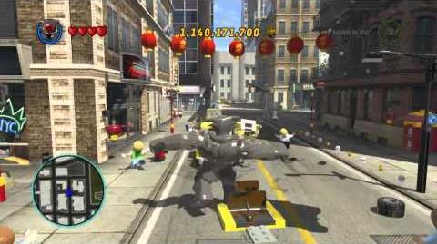 LEGO Marvel Super Heroes The Video Game - Kurse (Dark World) free roam