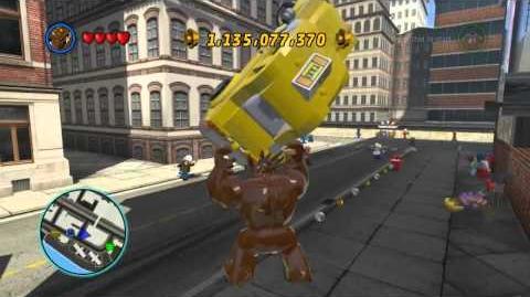 LEGO Marvel Super Heroes The Video Game - Groot free roam