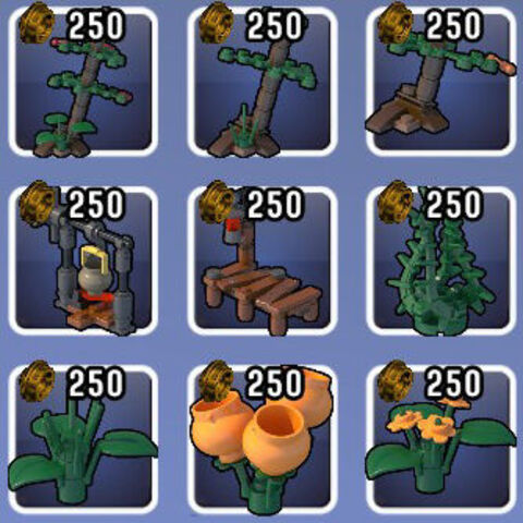 Props found in the Swamp biome.
